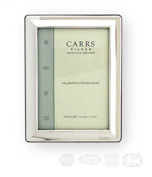 Carrs sterling silver photo frames